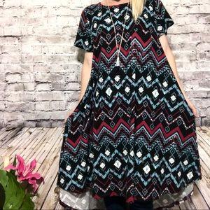 ‼️NWOT {Lularoe }CARLY Dress Black! So Soft Large